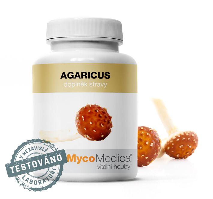 Agaricus (žampión mandlový) MycoMedica