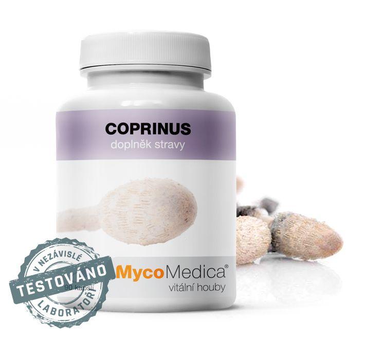 Coprinus (hnojník obecný) MycoMedica