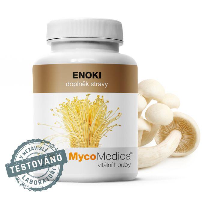Japonská Enoki (penízovka sametonohá) MycoMedica