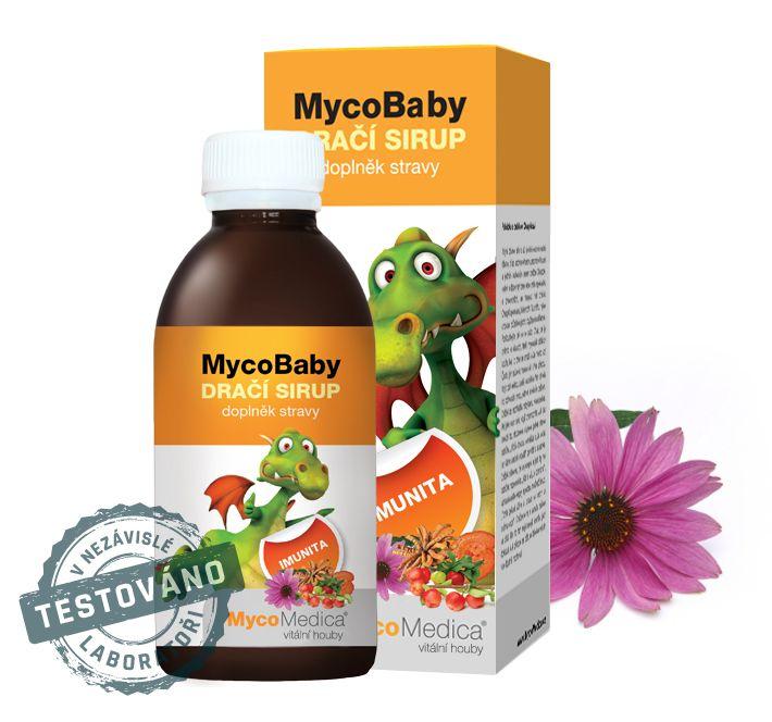 MycoBaby dračí sirup MycoMedica