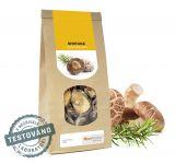 Shiitake sušená - (houževnatec jedlý)