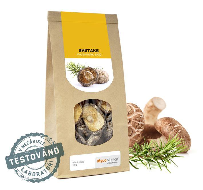 Shiitake sušená - (houževnatec jedlý) MycoMedica