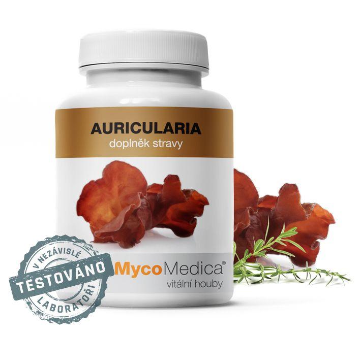 AURICULARIA - Auricularia polytricha - (Jidášovo ucho) MycoMedica