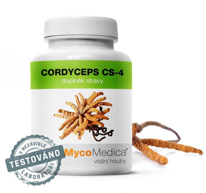 Cordyceps CS-4 - Cordyceps (housenice čínská) MycoMedica