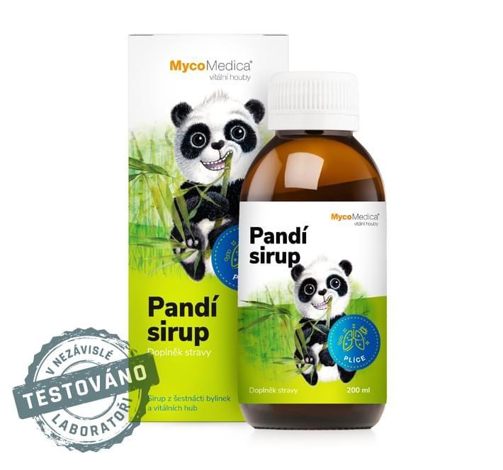dětský Pandí sirup | MycoMedica