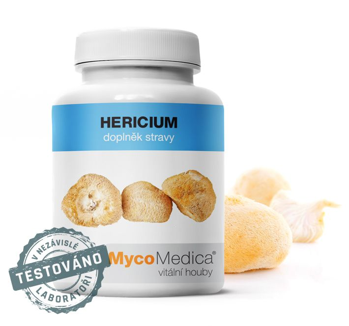 Hericium (korálovec ježatý) MycoMedica