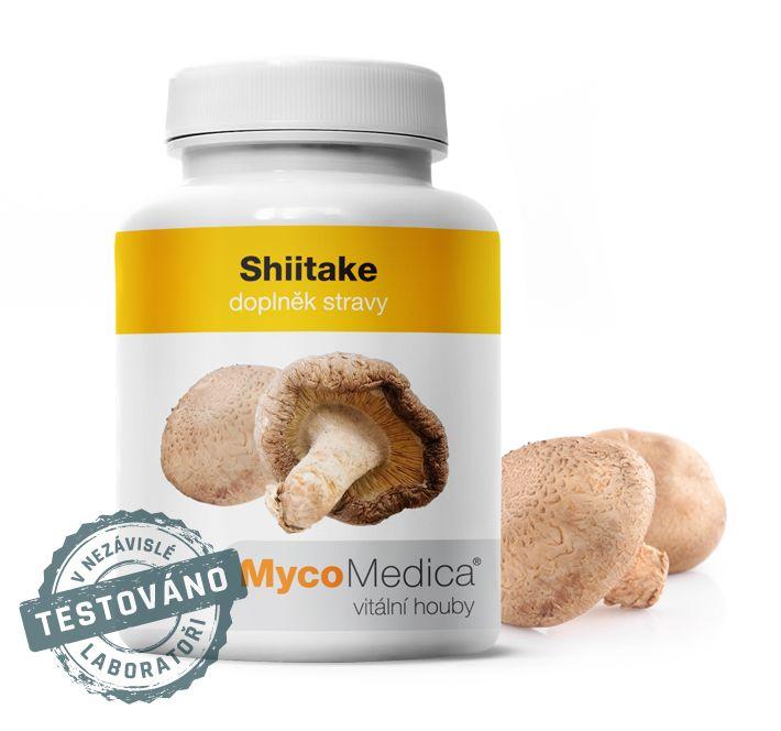 Shiitake (houževnatec jedlý) MycoMedica